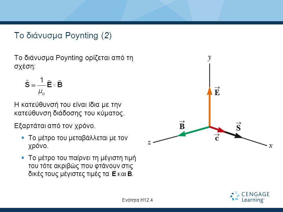 Το διάνυσμα Poynting (2)