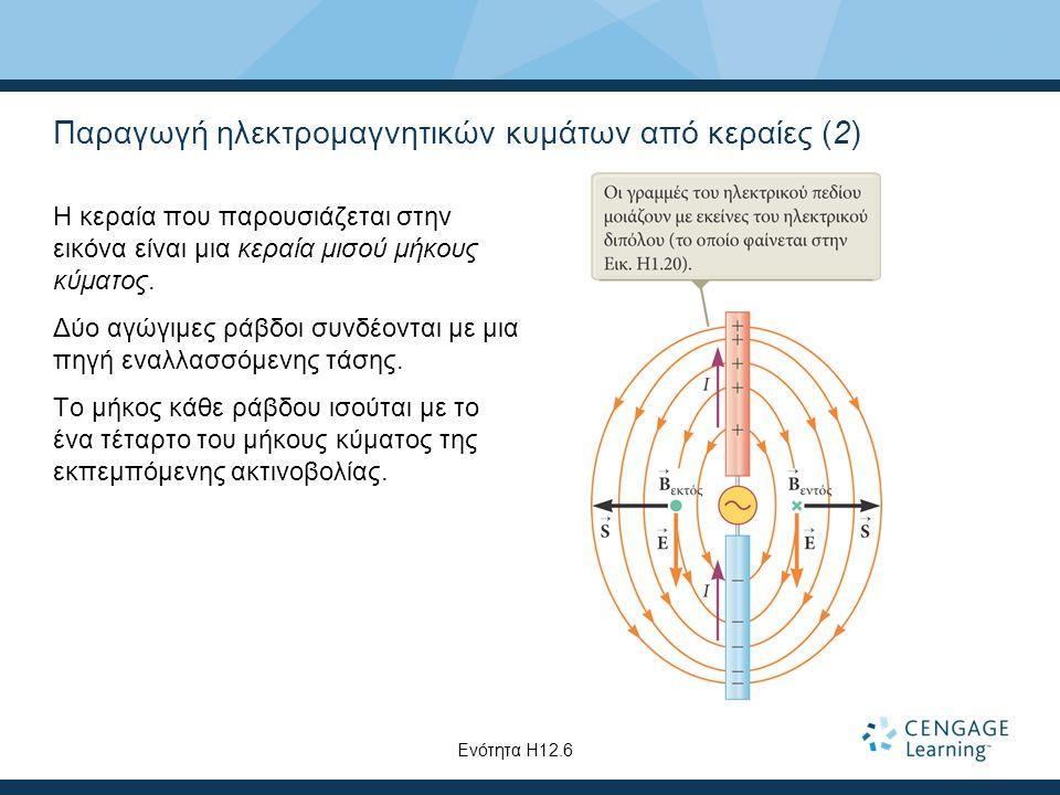 Παραγωγή ηλεκτρομαγνητικών κυμάτων από κεραίες (2)