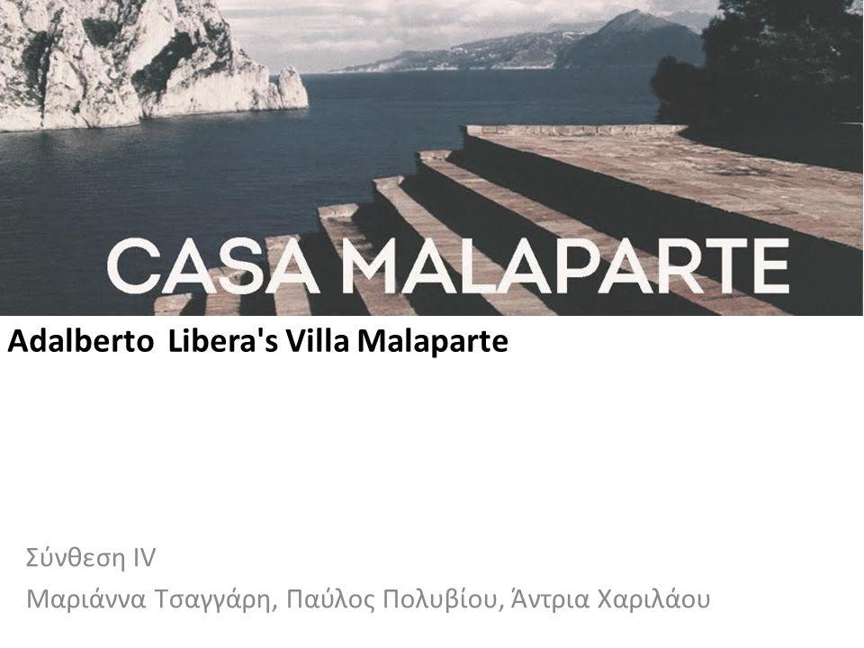 Adalberto Libera s Villa Malaparte