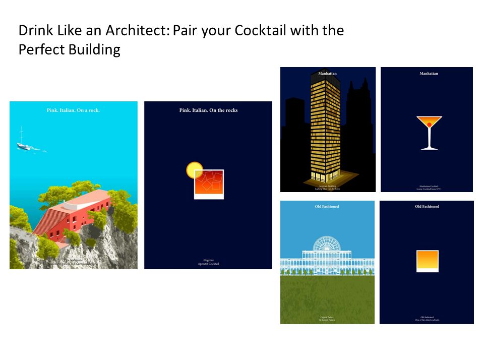 Drink Like an Architect: Pair your Cocktail with the Perfect Building