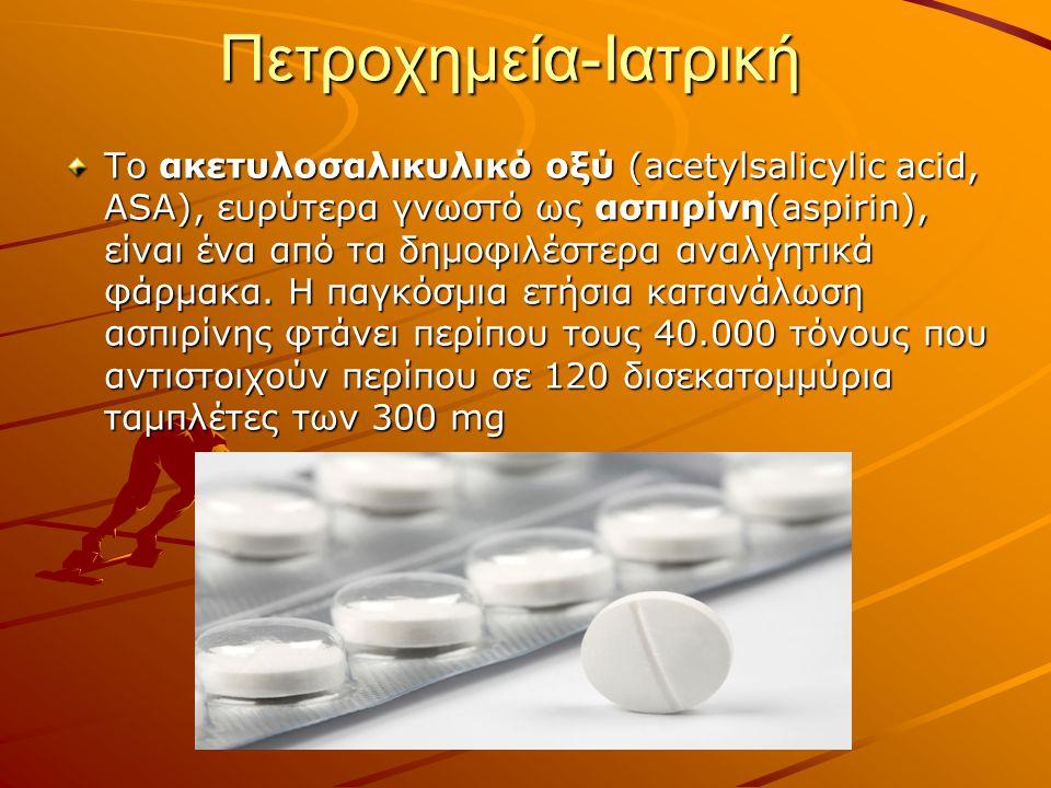 Πετροχημεία-Ιατρική