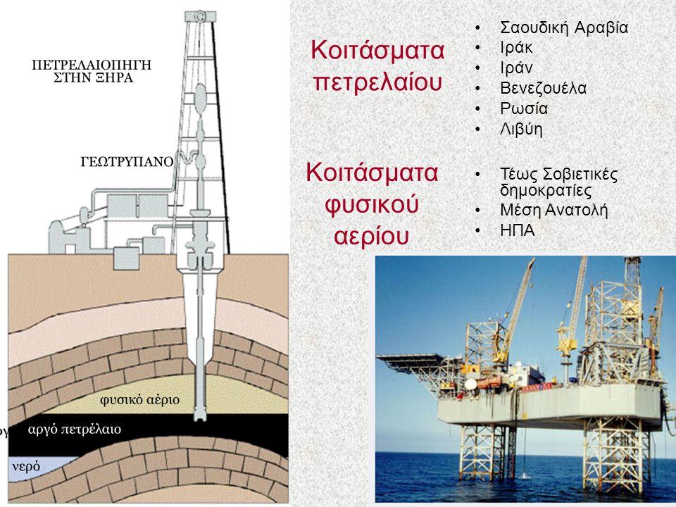 Κοιτάσματα πετρελαίου