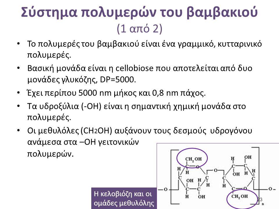 Σύστημα πολυμερών του βαμβακιού (2 από 2)