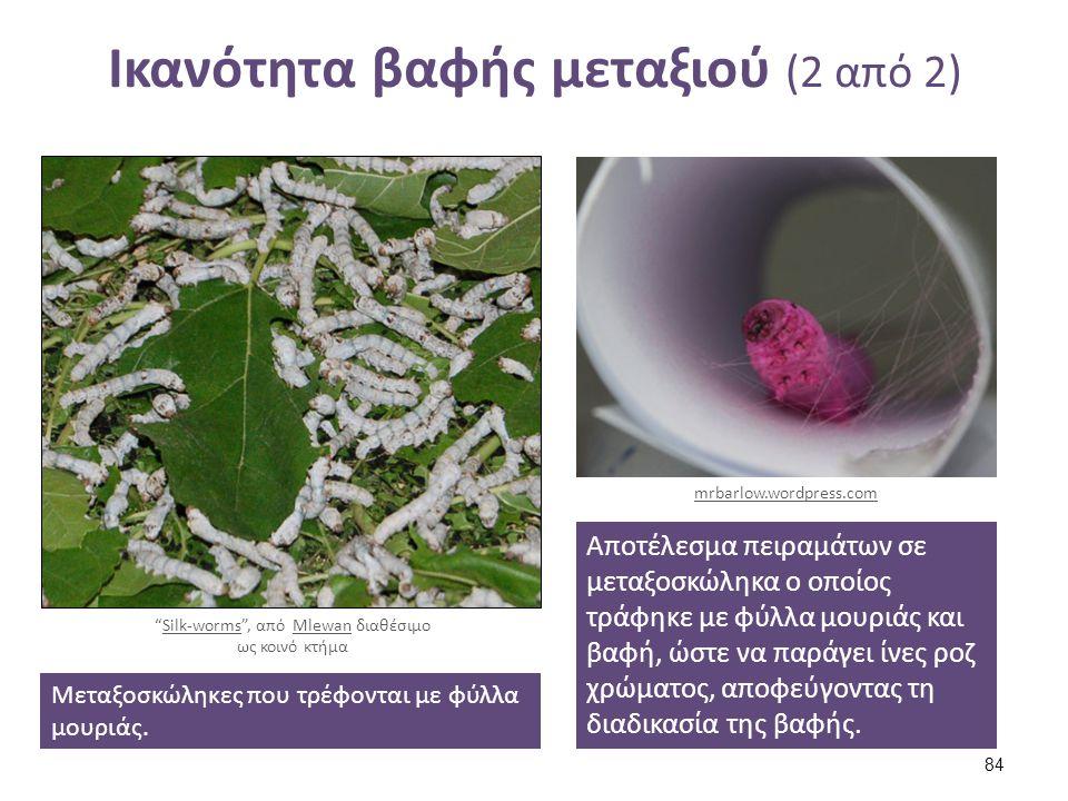 Έγχρωμα κουκούλια silkworm cocoons , από Sarah Macmillan διαθέσιμο με άδεια CC BY-NC-SA 2.0. theelusivebobbin.blogspot.gr.