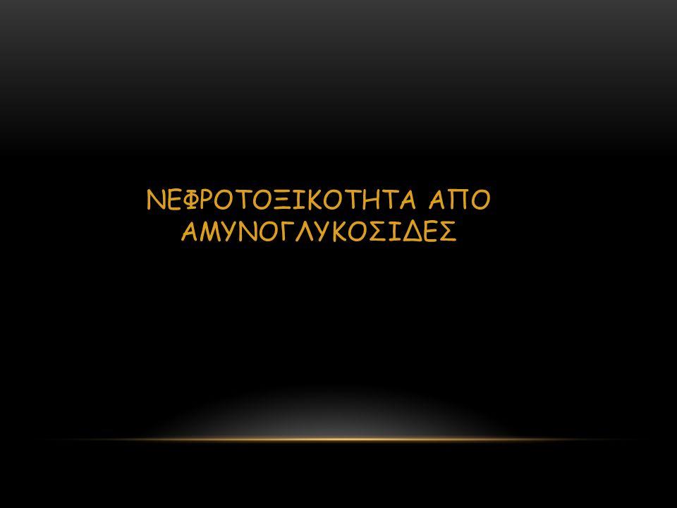ΝΕΦΡΟΤΟΞΙΚΟΤΗΤΑ ΑΠΟ ΑΜΥΝΟΓΛΥΚΟΣΙΔΕΣ