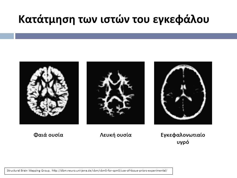 Κατάτμηση των ιστών του εγκεφάλου