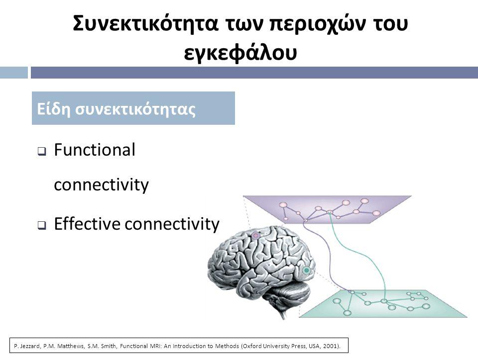 Συνεκτικότητα των περιοχών του εγκεφάλου