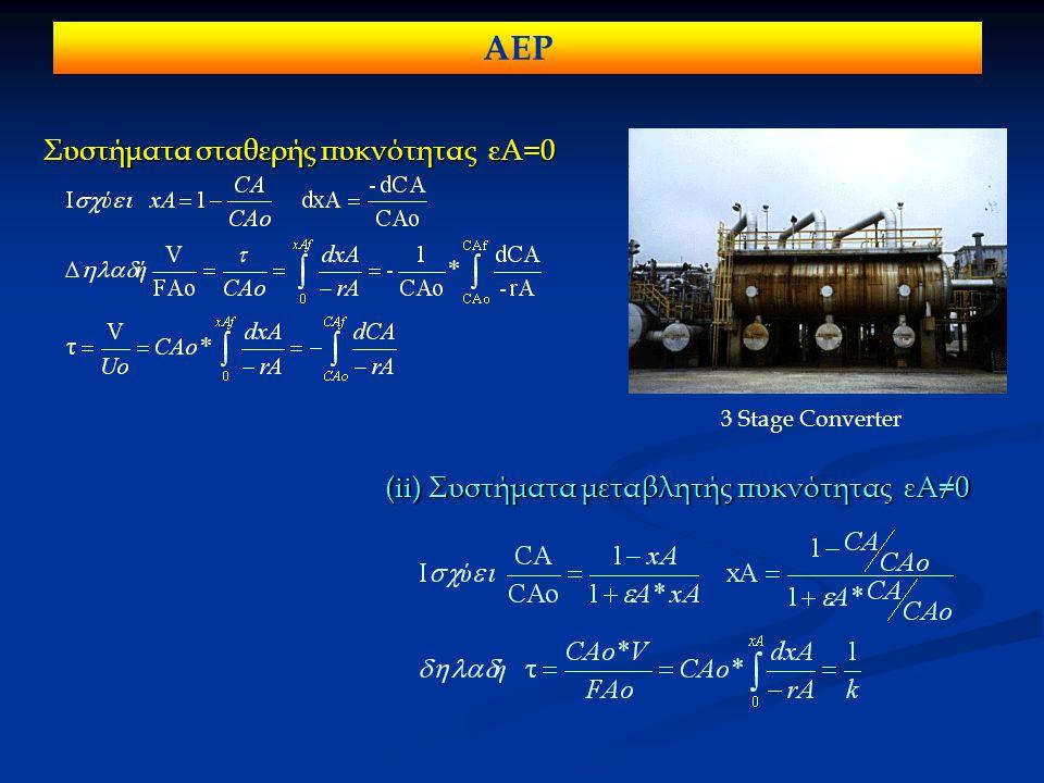 ΑΕΡ Συστήματα σταθερής πυκνότητας εΑ=0