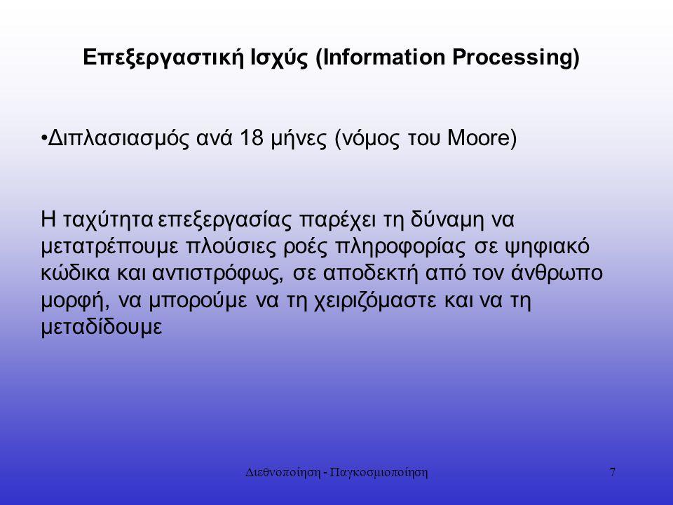 Επεξεργαστική Ισχύς (Information Processing)