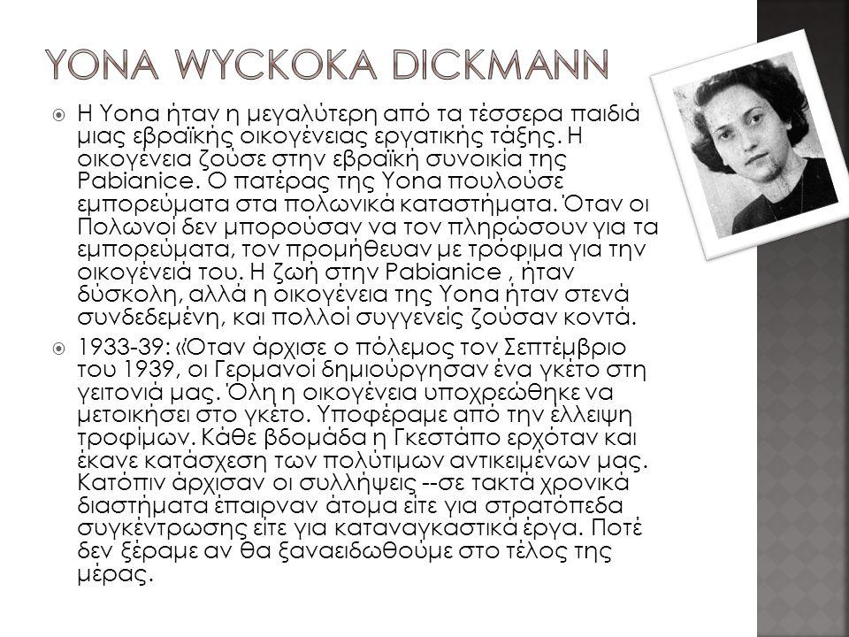 Yona Wyckoka Dickmann