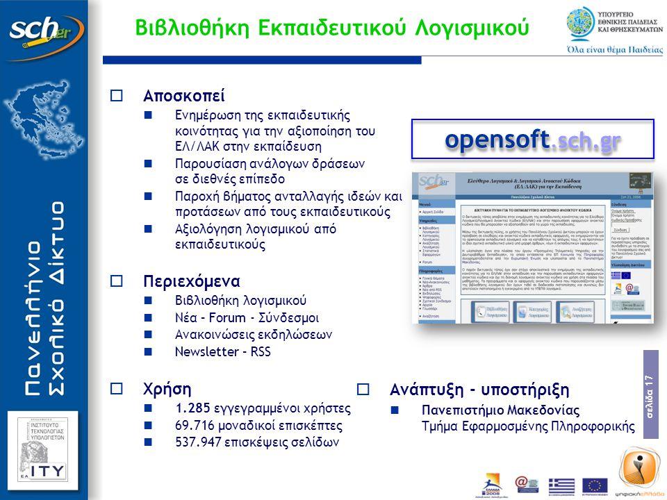 Βιβλιοθήκη Εκπαιδευτικού Λογισμικού
