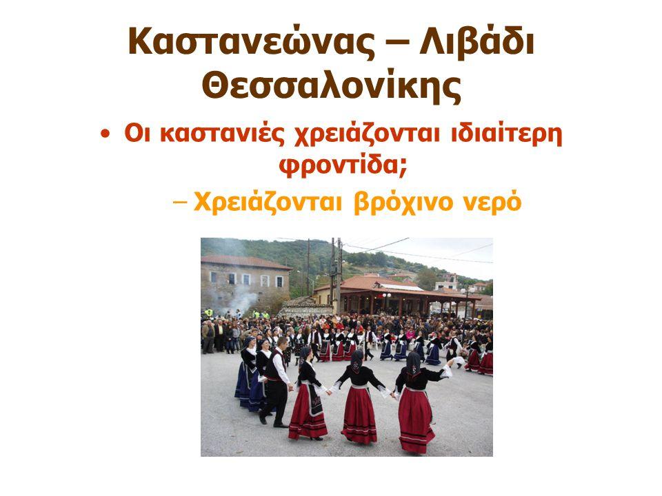 Καστανεώνας – Λιβάδι Θεσσαλονίκης