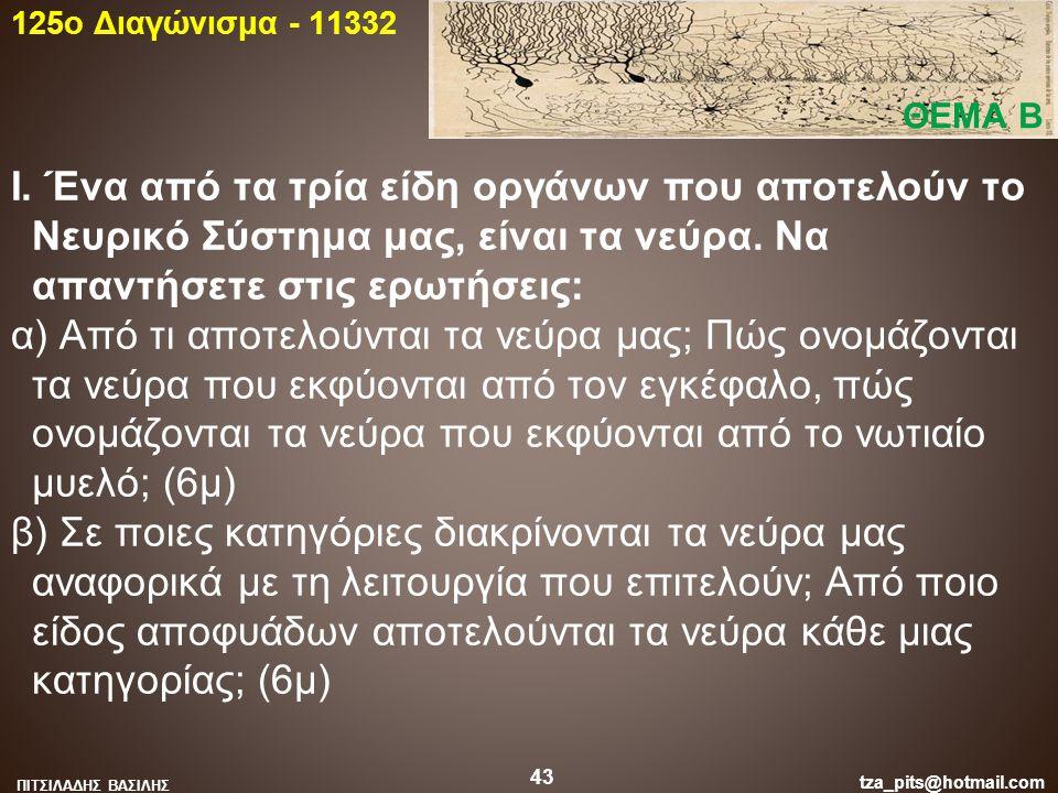 125o Διαγώνισμα - 11332 ΘΕΜΑ Β.