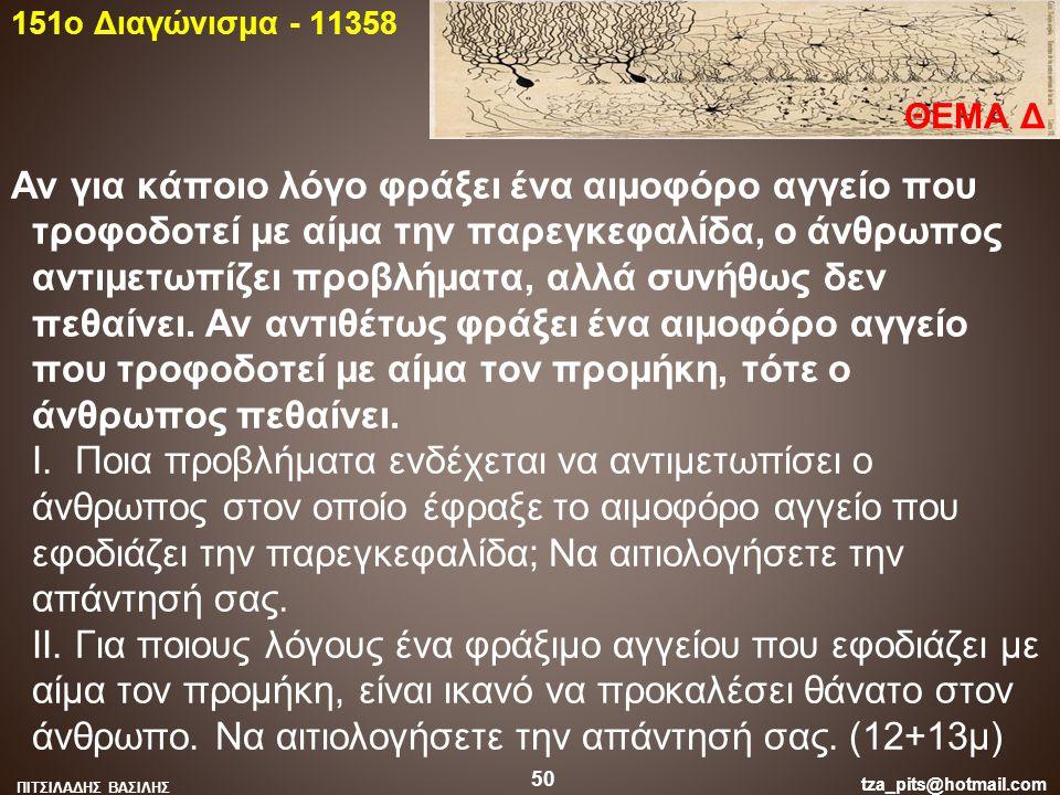 151o Διαγώνισμα - 11358 ΘΕΜΑ Δ.