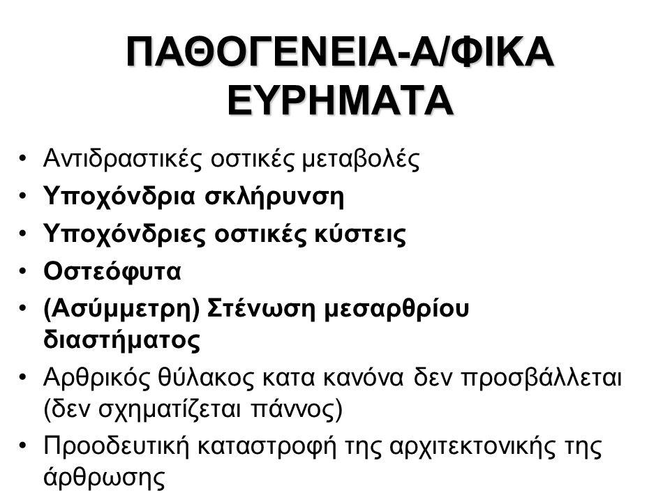 ΠΑΘΟΓΕΝΕΙΑ-Α/ΦΙΚΑ ΕΥΡΗΜΑΤΑ