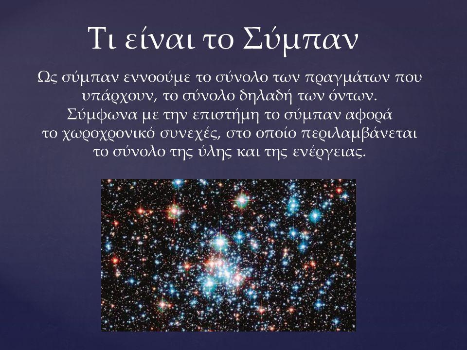 Τι είναι το Σύμπαν
