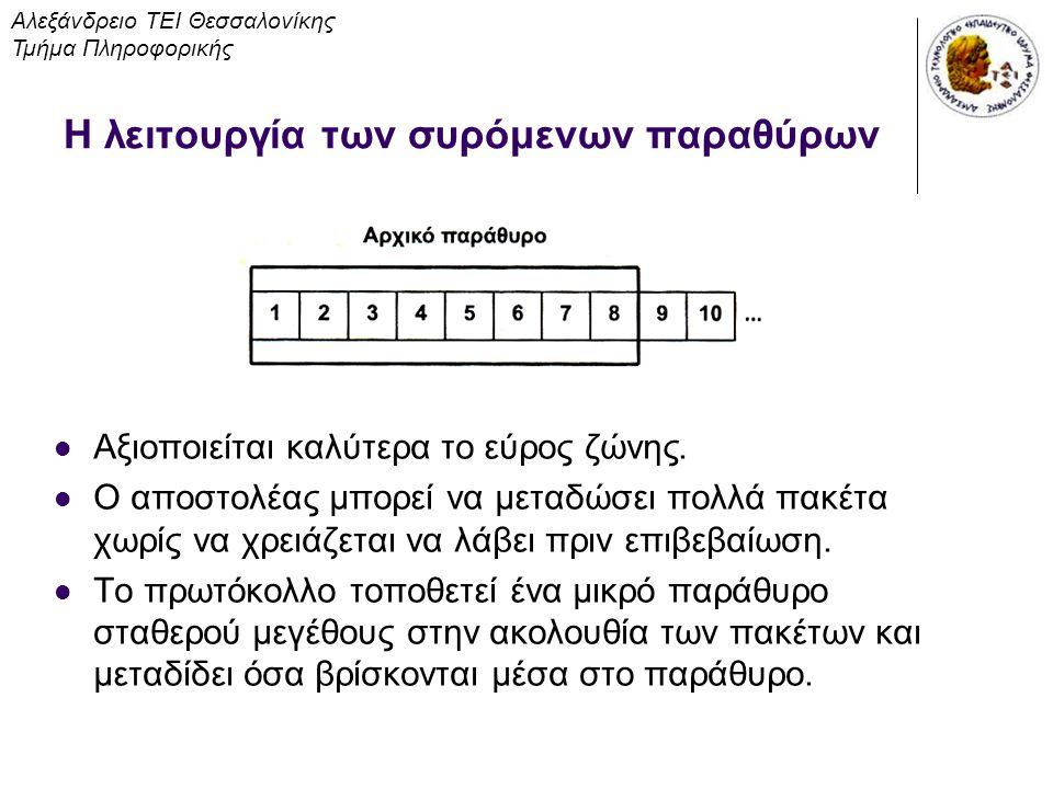 Η λειτουργία των συρόμενων παραθύρων