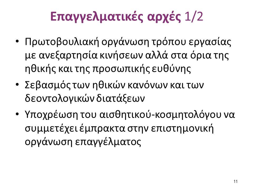 Επαγγελματικές αρχές 2/2