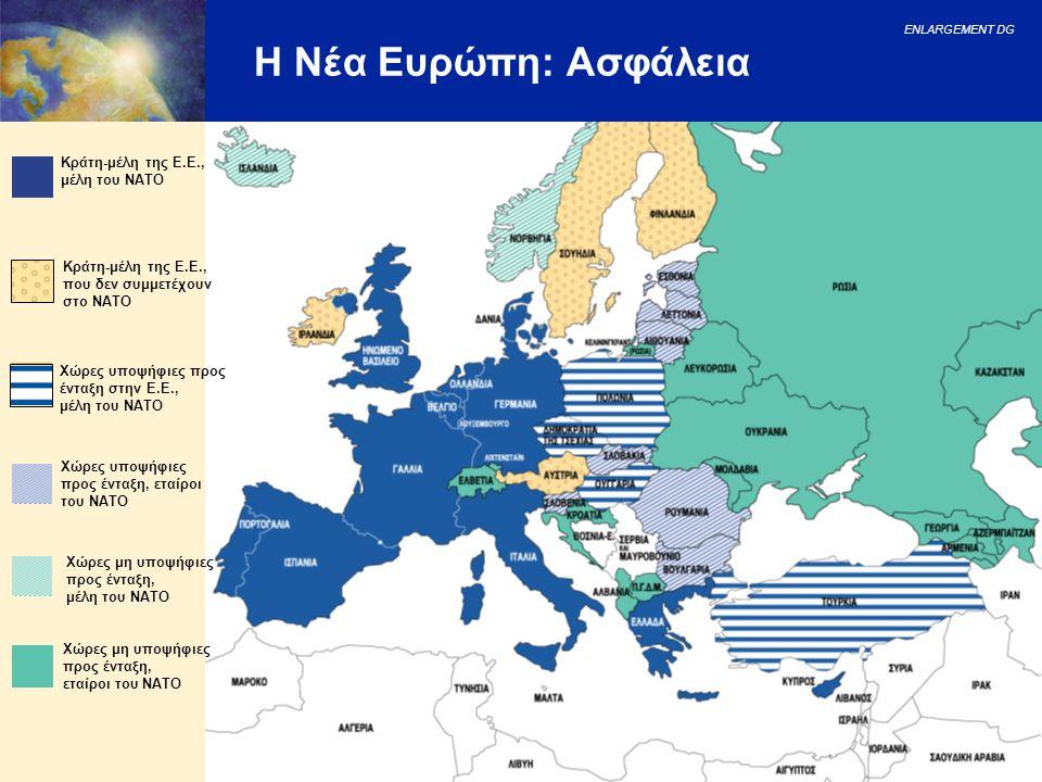 Η Νέα Ευρώπη: Ασφάλεια Κράτη-μέλη της Ε.Ε., μέλη του NATO