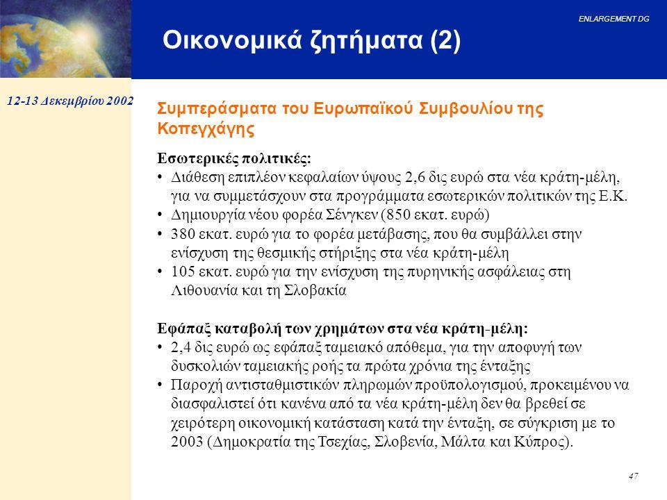 Οικονομικά ζητήματα (2)