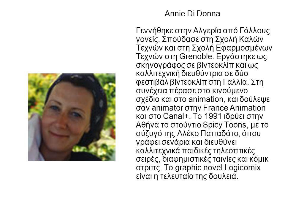 Annie Di Donna Γεννήθηκε στην Αλγερία από Γάλλους γονείς