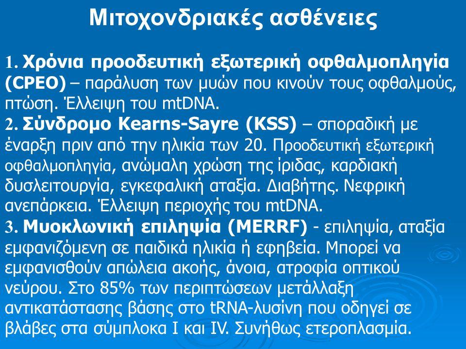 Μιτοχονδριακές ασθένειες
