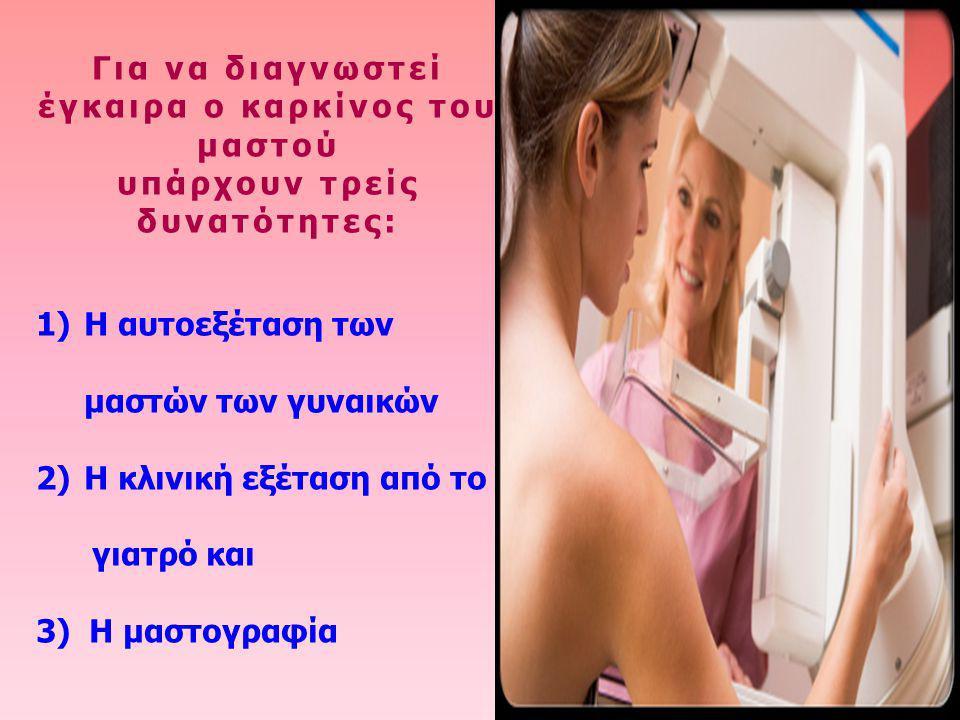 Για να διαγνωστεί έγκαιρα ο καρκίνος του μαστού