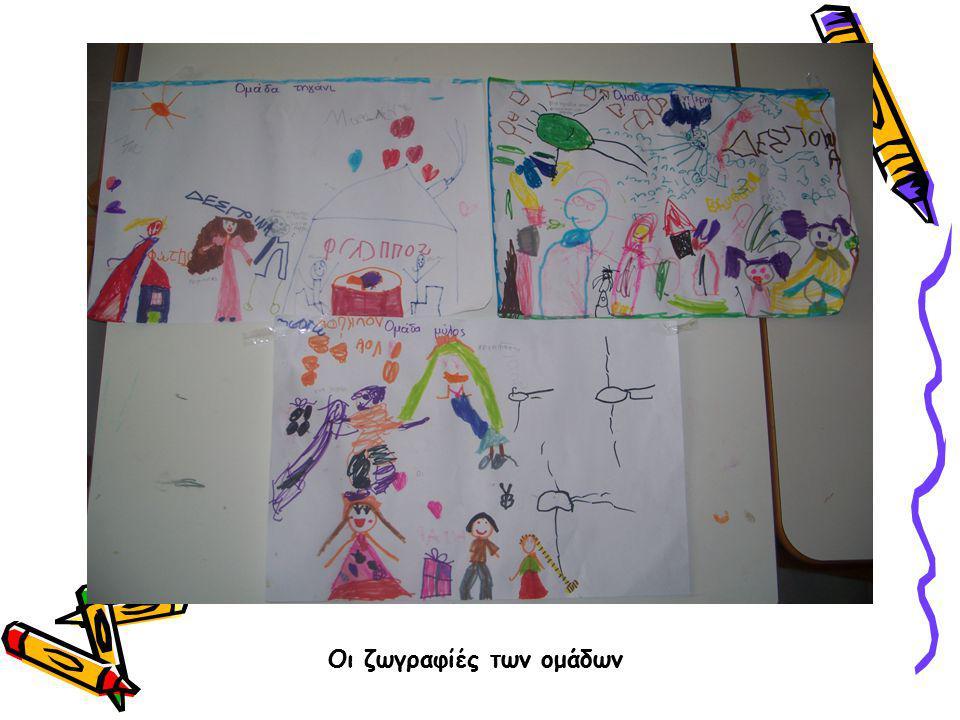 Οι ζωγραφιές των ομάδων