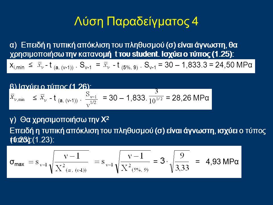 Λύση Παραδείγματος 4