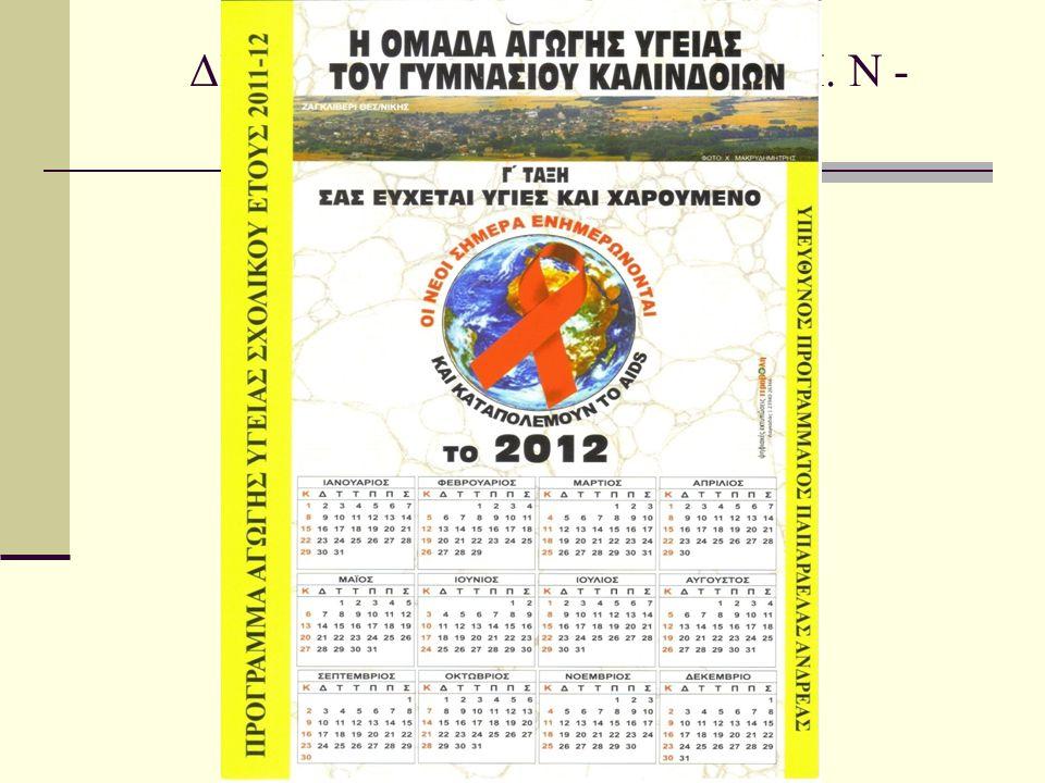 ΔΙΑΦΥΛΙΚΕΣ ΣΧΕΣΕΙΣ - Σ. Μ. Ν - ΠΡΟΛΗΨΗ