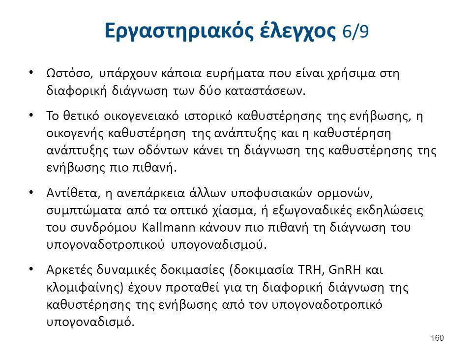 Εργαστηριακός έλεγχος 7/9