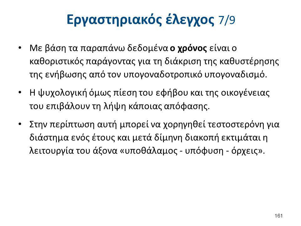 Εργαστηριακός έλεγχος 8/9