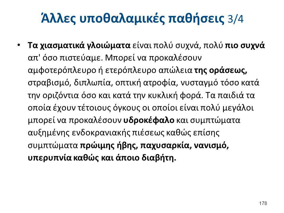 Άλλες υποθαλαμικές παθήσεις 4/4