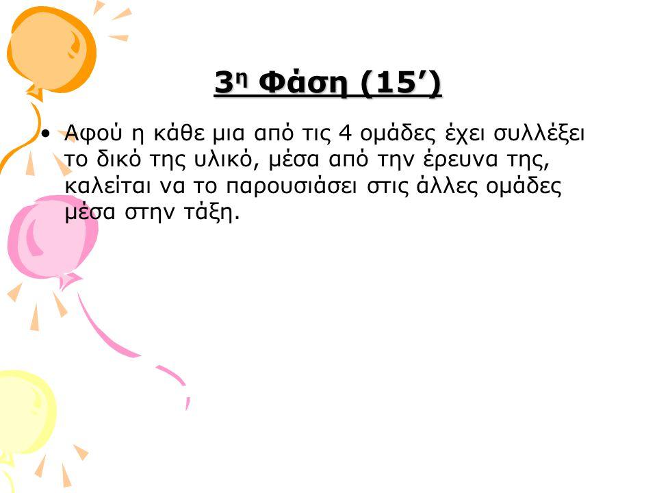 3η Φάση (15')