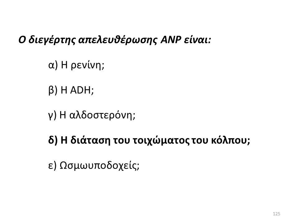 Ο διεγέρτης απελευθέρωσης ANP είναι: