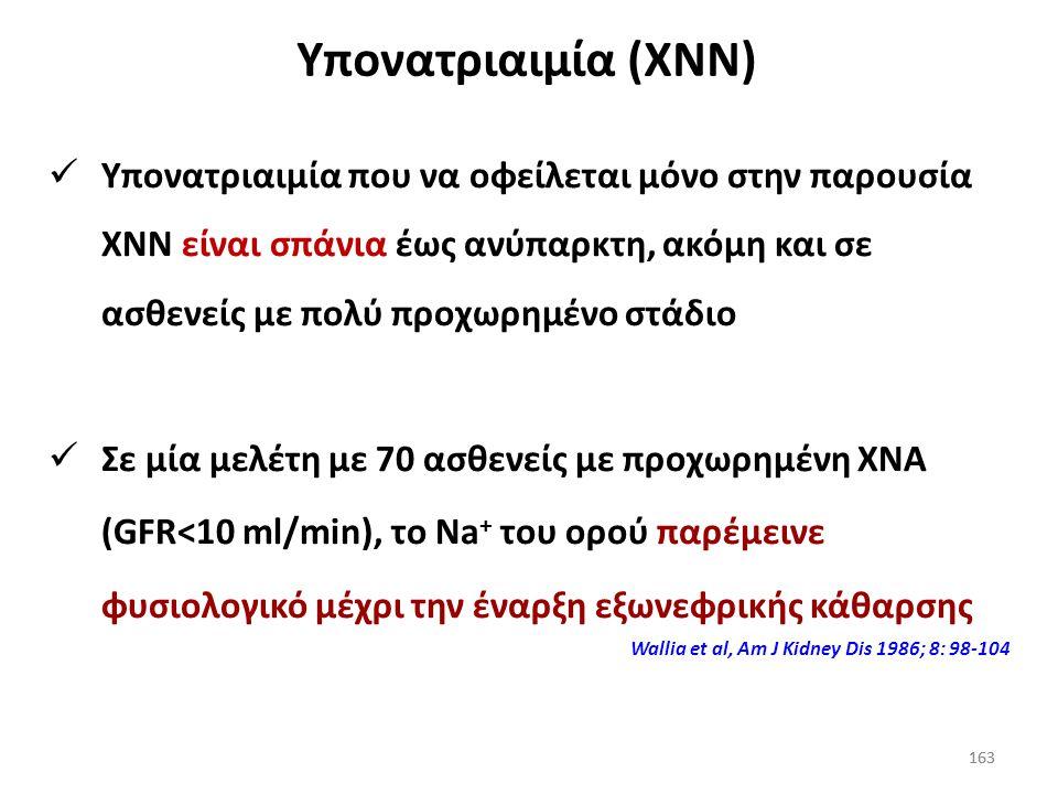 Υπονατριαιμία (XNN)