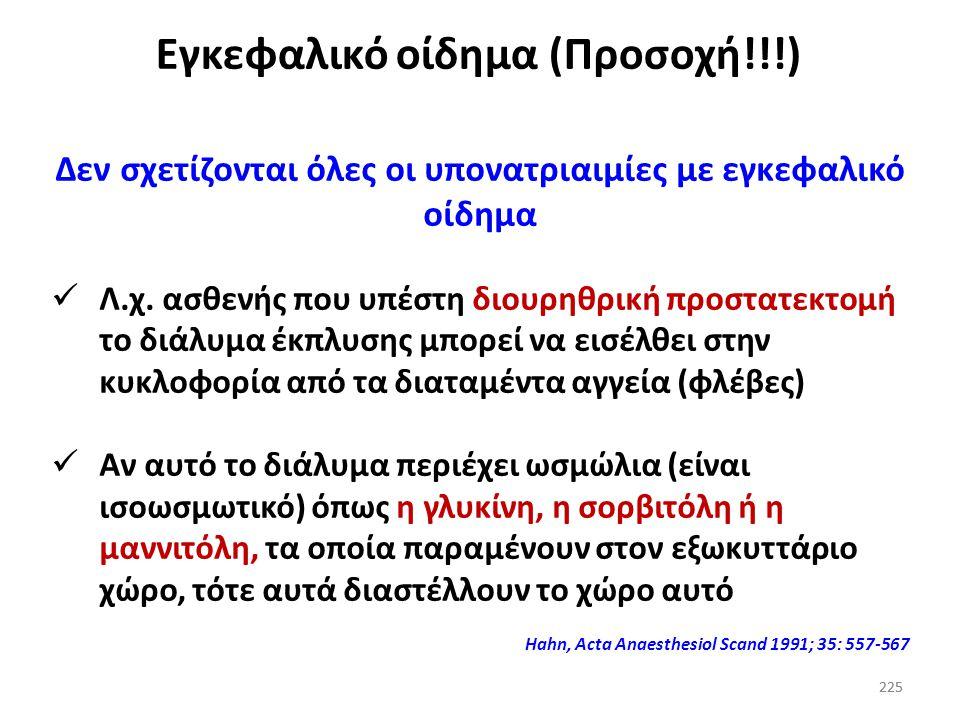 Εγκεφαλικό οίδημα (Προσοχή!!!)