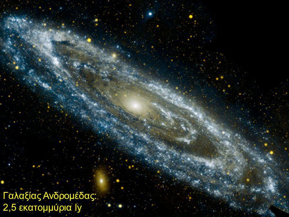 Γαλαξίας Ανδρομέδας: 2,5 εκατομμύρια ly