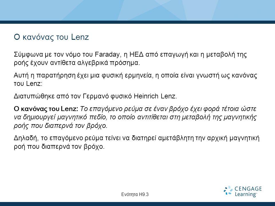 Ο κανόνας του Lenz