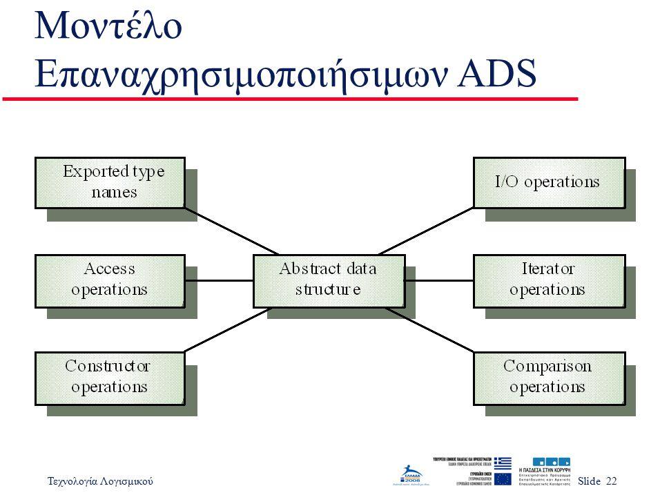 Μοντέλο Επαναχρησιμοποιήσιμων ADS