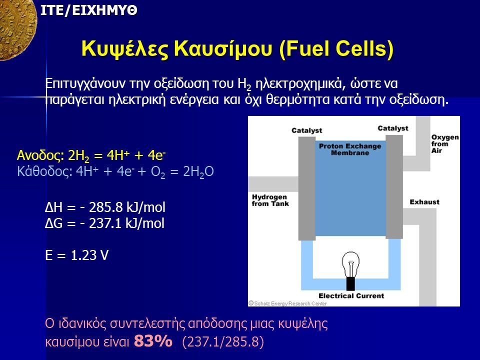 Κυψέλες Καυσίμου (Fuel Cells)