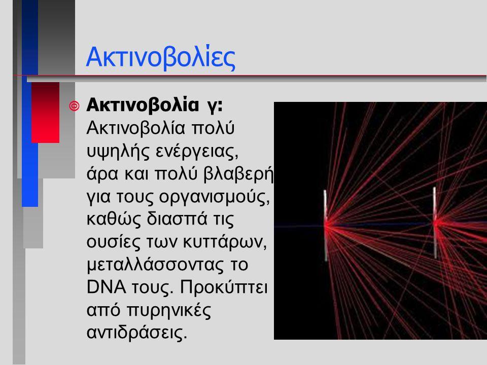Ακτινοβολίες