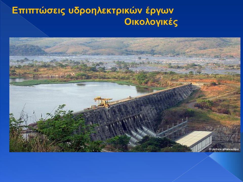 Επιπτώσεις υδροηλεκτρικών έργων
