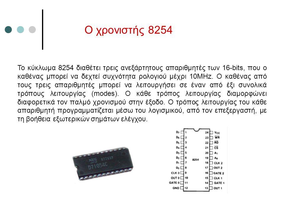 Ο χρονιστής 8254