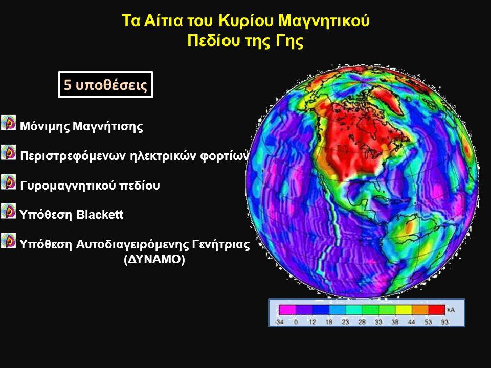 Τα Αίτια του Κυρίου Μαγνητικού Πεδίου της Γης