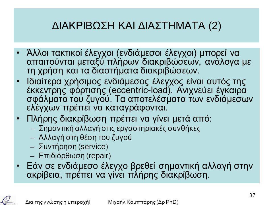 ΔΙΑΚΡΙΒΩΣΗ ΚΑΙ ΔΙΑΣΤΗΜΑΤΑ (2)