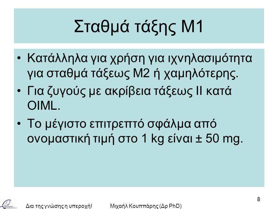 Μιχαήλ Κουππάρης (Δρ PhD)