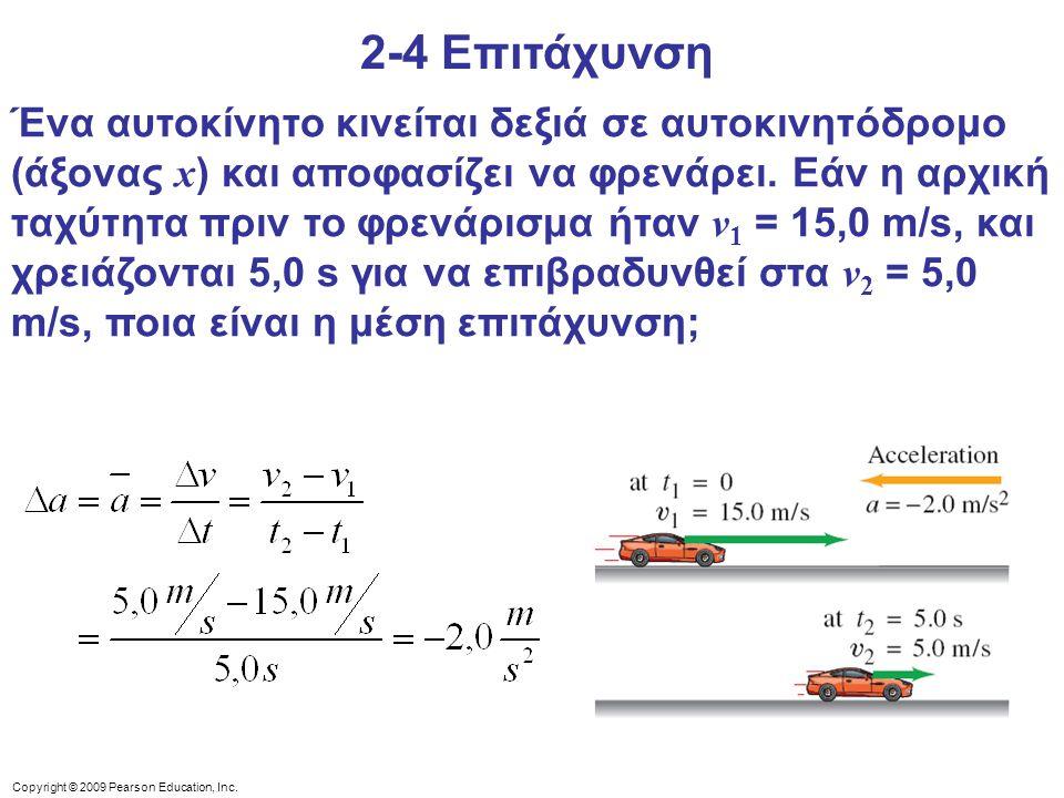 2-4 Επιτάχυνση