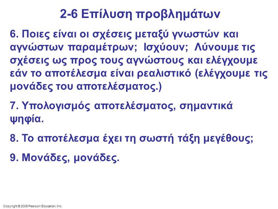 2-6 Επίλυση προβλημάτων