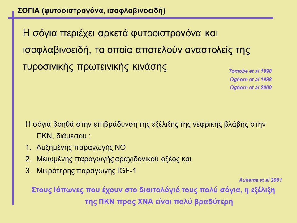 ΣΟΓΙΑ (φυτοοιστρογόνα, ισοφλαβινοειδή)